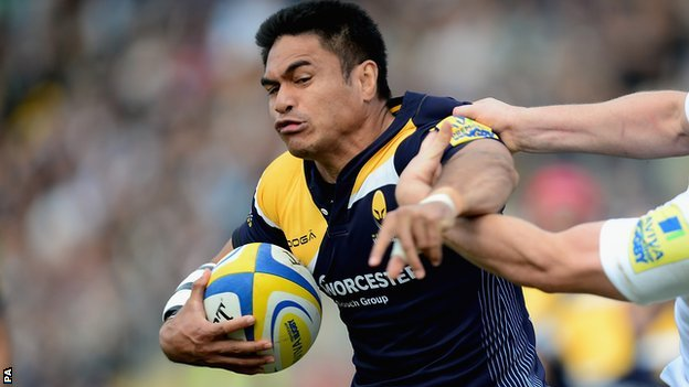 Worcester Warriors winger David Lemi