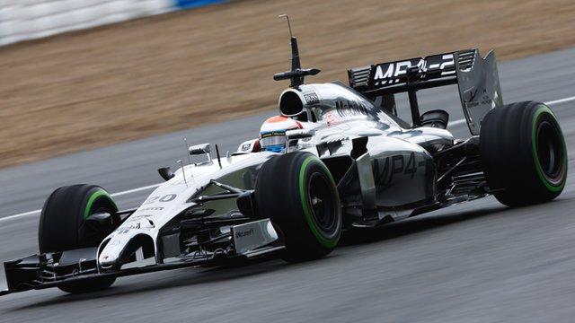 McLaren's Kevin Magnussen