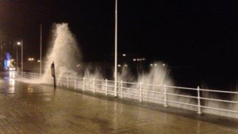 Aberystwyth on Friday evening