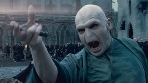 Voldemort in the Harry Potter films