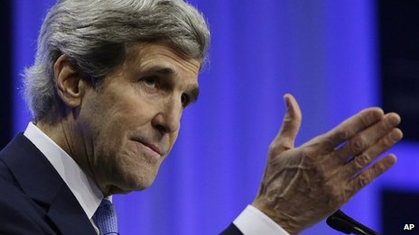 US Secretary of State John Kerry (file image)
