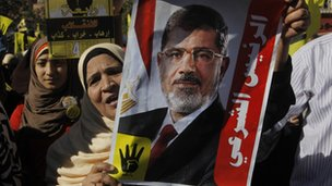 Female Morsi supporters (6 December 2013)