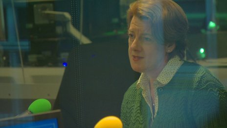 Baroness Morgan speaking on the Today programme