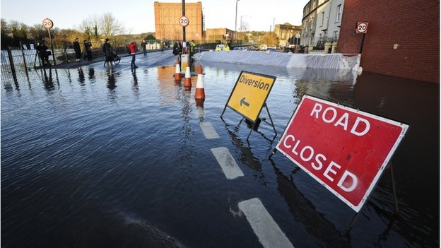 Flooding in Bristol