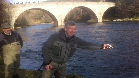 Ross Brawn at the Dee
