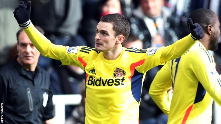 Adam Johnson was on the scoresheet for Sunderland