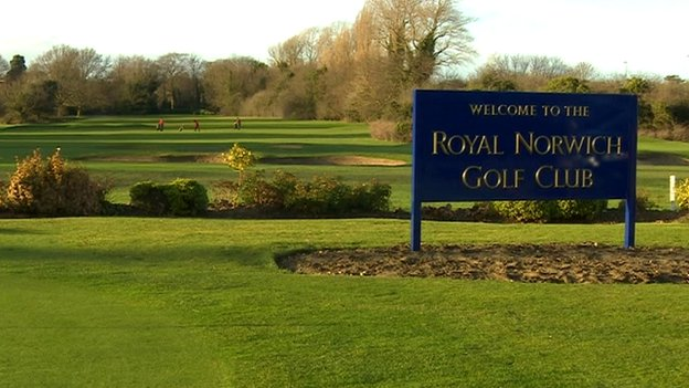 Green at Royal Norfolk Golf Club