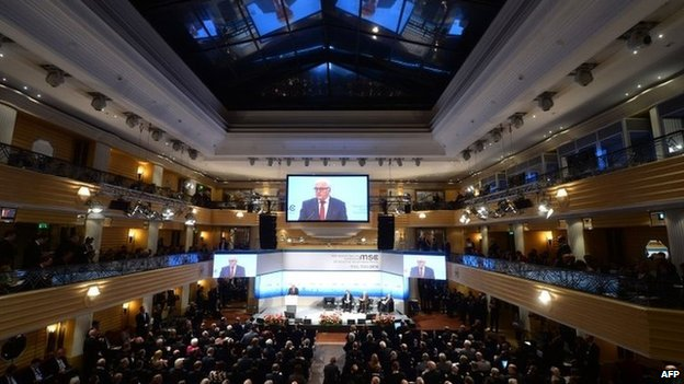 Munich security conference, 1 February