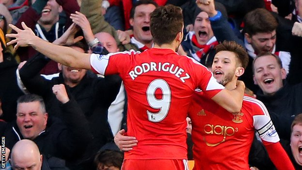 Jay Rodriguez and Adam Lallana