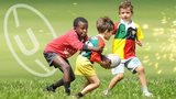 Children playing Rugby Union