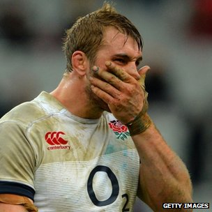 England rugby captain Chris Robshaw