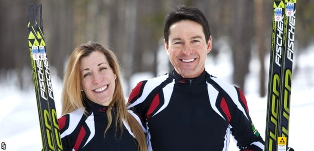 Angelica Morrone di Silvestri and Gary di Silvestri