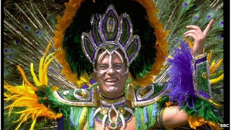 The Rio Carnival in full swing