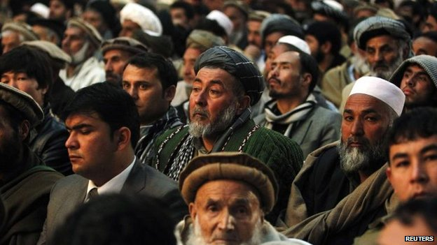 Ashraf Ghani rally in Kabul, 2 Feb