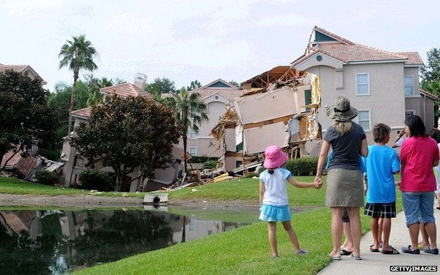 Collapse near Disney World