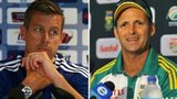 Ashley Giles and Gary Kirsten