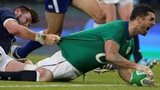 Rob Kearney scores a try