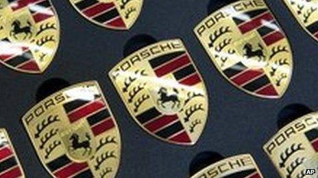 Porsche logos
