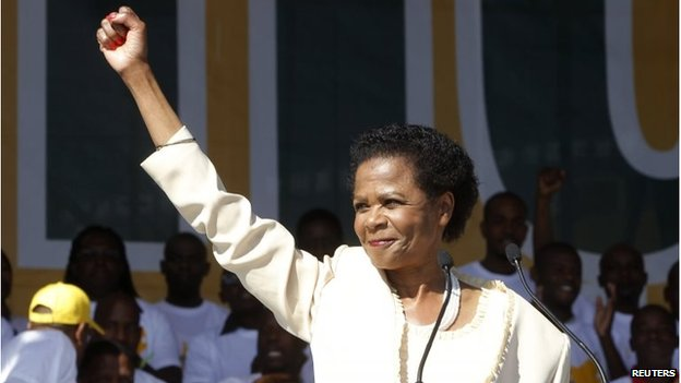 Mamphela Ramphele launches her new political party, Agang, in Pretoria, 22 June 2013