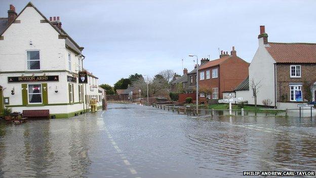 Burton Fleming, East Yorkshire