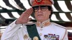 The late Colonel Gaddafi