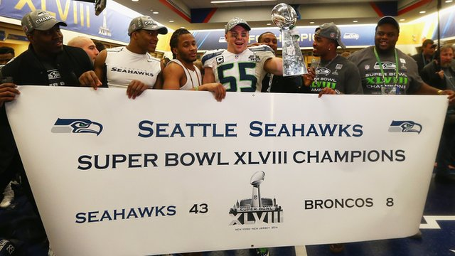 Seahawks win Super Bowl