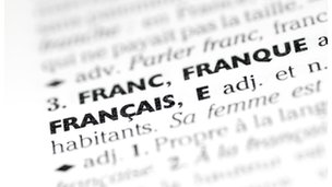 """Francais"" in dictionary"