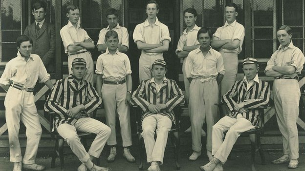 Ipswich School cricket team, 1916