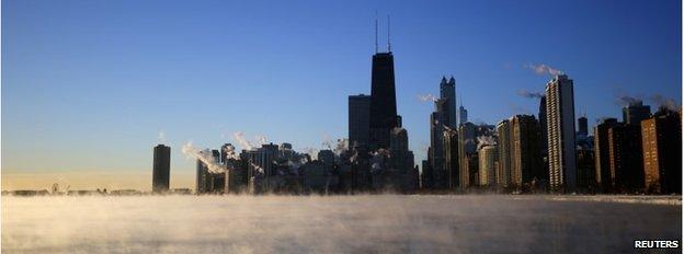 Lake Michigan, Chicago