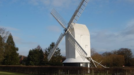 Lowfield Heath Windmill