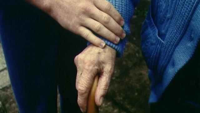 Carers hands