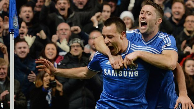 John Terry and Gary Cahill