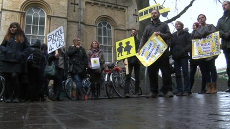 Oxfordshire school bus changes campaigners