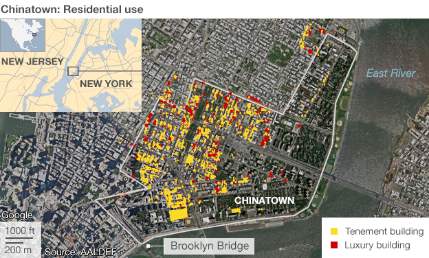 Chinatown residential use