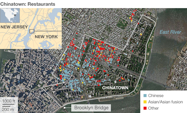 Chinatown restaurants