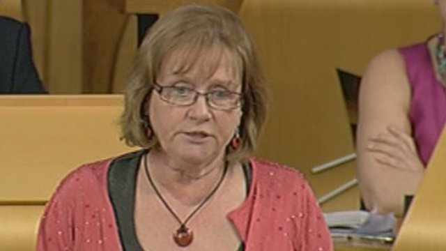 SNP MSP Maureen Watt