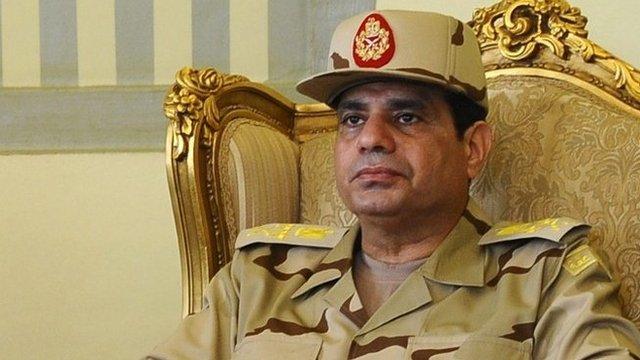 Abdel Fattah al-Sisi, file pic from May 2013