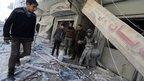 US condemns Aleppo barrel bomb raids