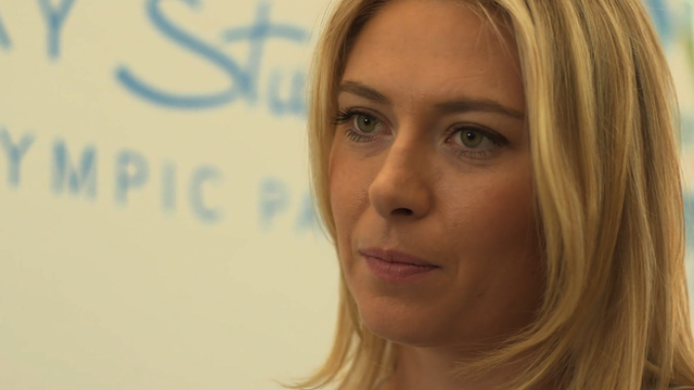 "Maria Sharapova on ""surreal"" Sochi"