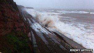 Dawlish seafront