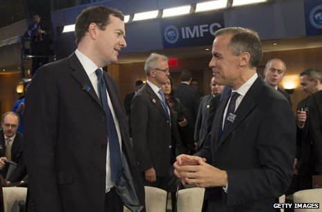 George Osborne and Mark Carney