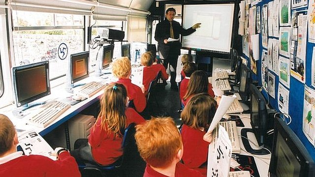 Mr Townsend has taught thousands of Manx children about the internet over the past 16 years