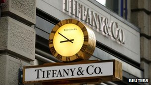 Tiffany jewellery store in New York