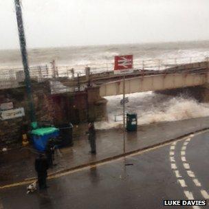 Seafront at Dawlish