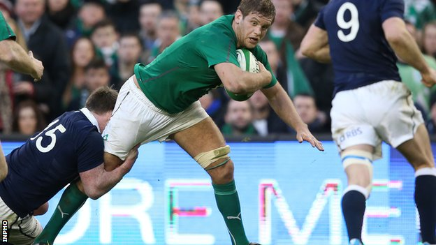 Ireland flanker Chris Henry is relishing the back-row battle with Wales on Saturday