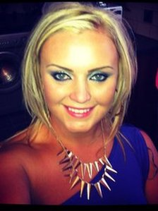24-year-old Jemma McGrath was shot five times by the UVF in her east Belfast home last September.