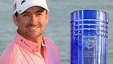 Graeme McDowell with the Volvo World Matchplay Championship trophy