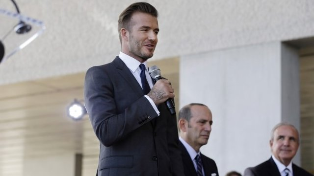 Beckham to launch Miami MLS franchise