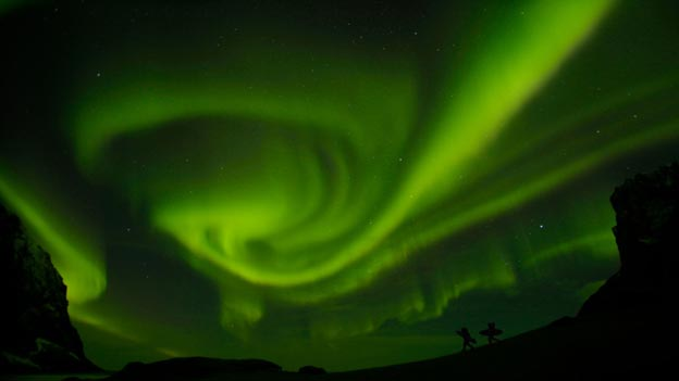 Northern Lights in film North of the Sun
