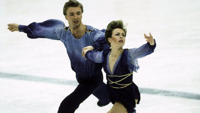 Jayne Torville and Christopher Dean